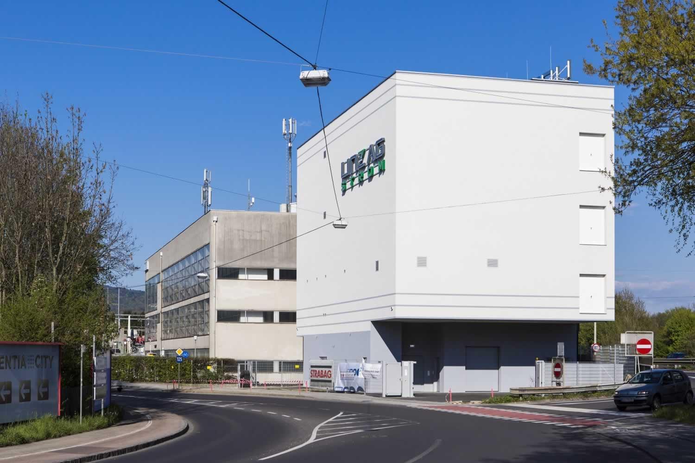Rechenzentrum IT- und Data Center der LINZ AG TELEKOM Ansicht von Nord West