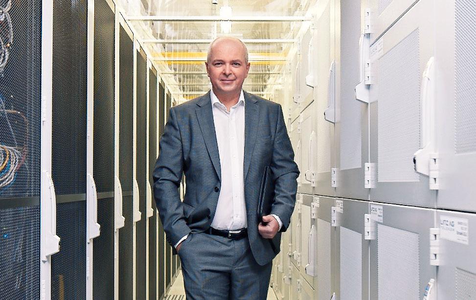 Markus Past, Leiter LINZ AG TELEKOM