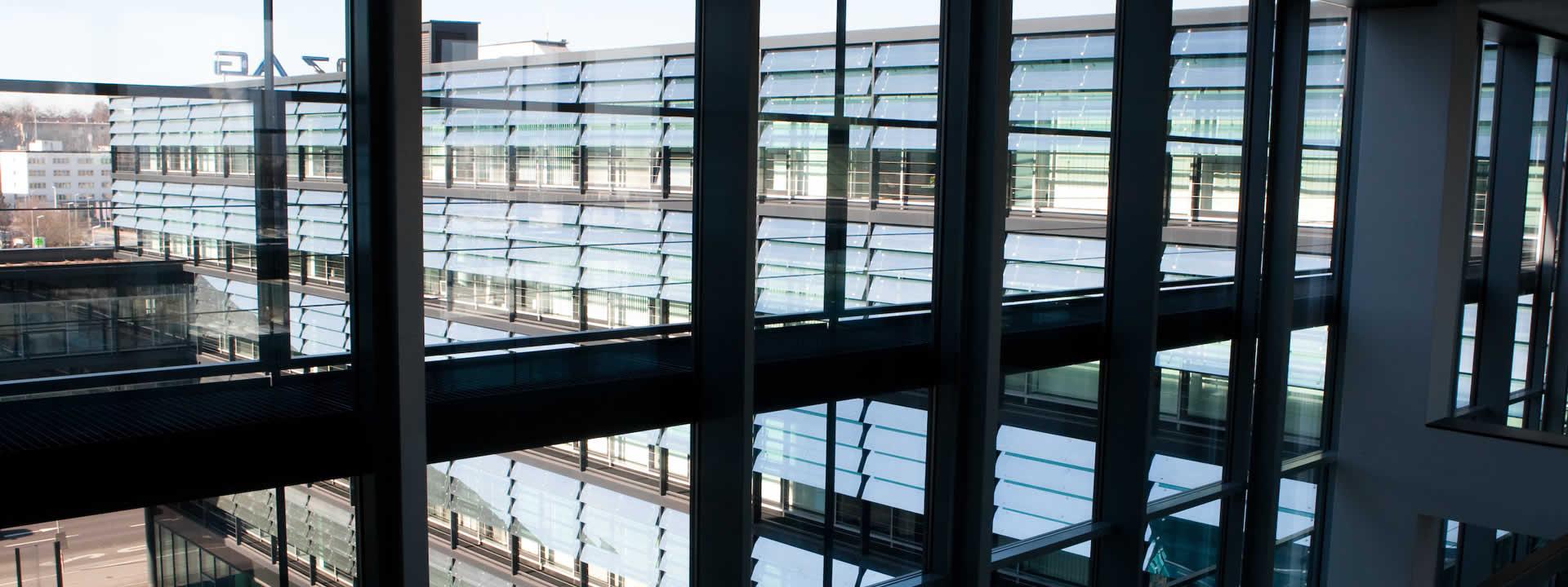 Firmengebäude der LINZ AG TELEKOM von innen