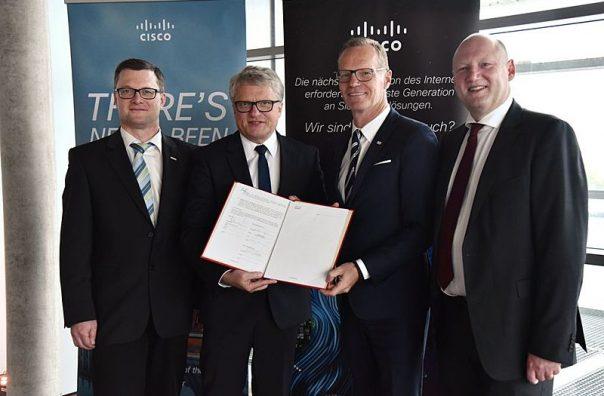 Cisco und LINZ AG arbeiten gebmeinsam an den Pilotprojekten.