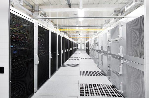 Innenansicht im DataCenter
